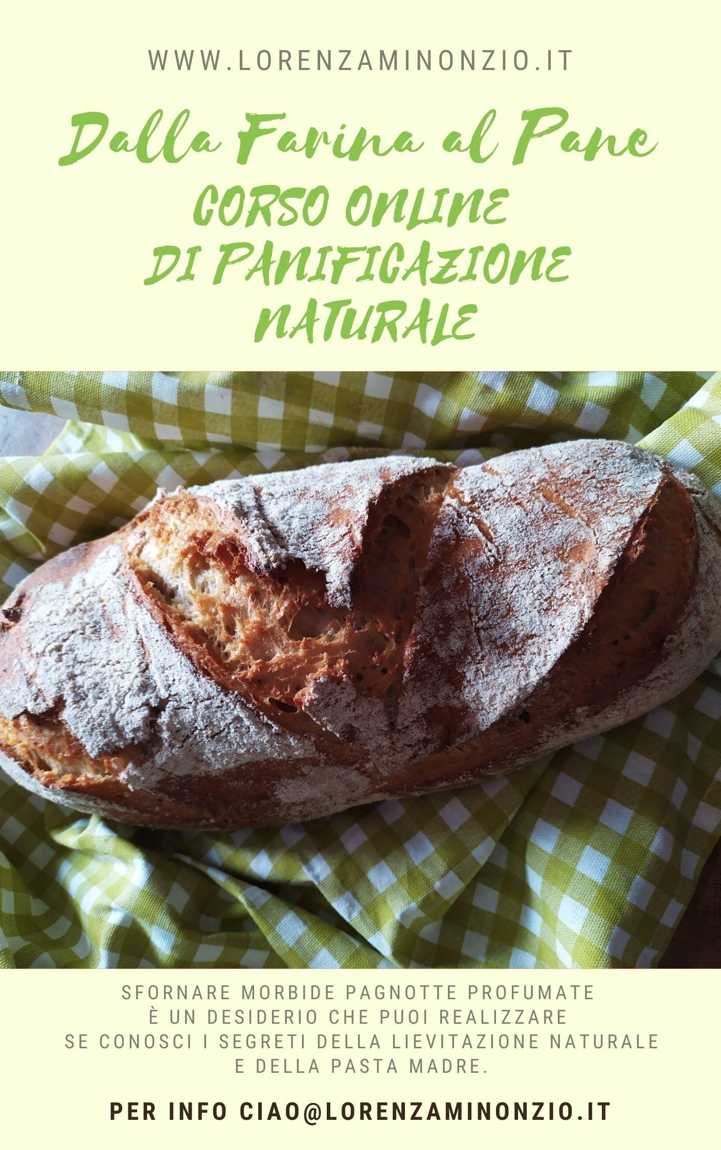 Dalla farina al pane: corso online