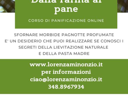 Corso di panificazione naturale online
