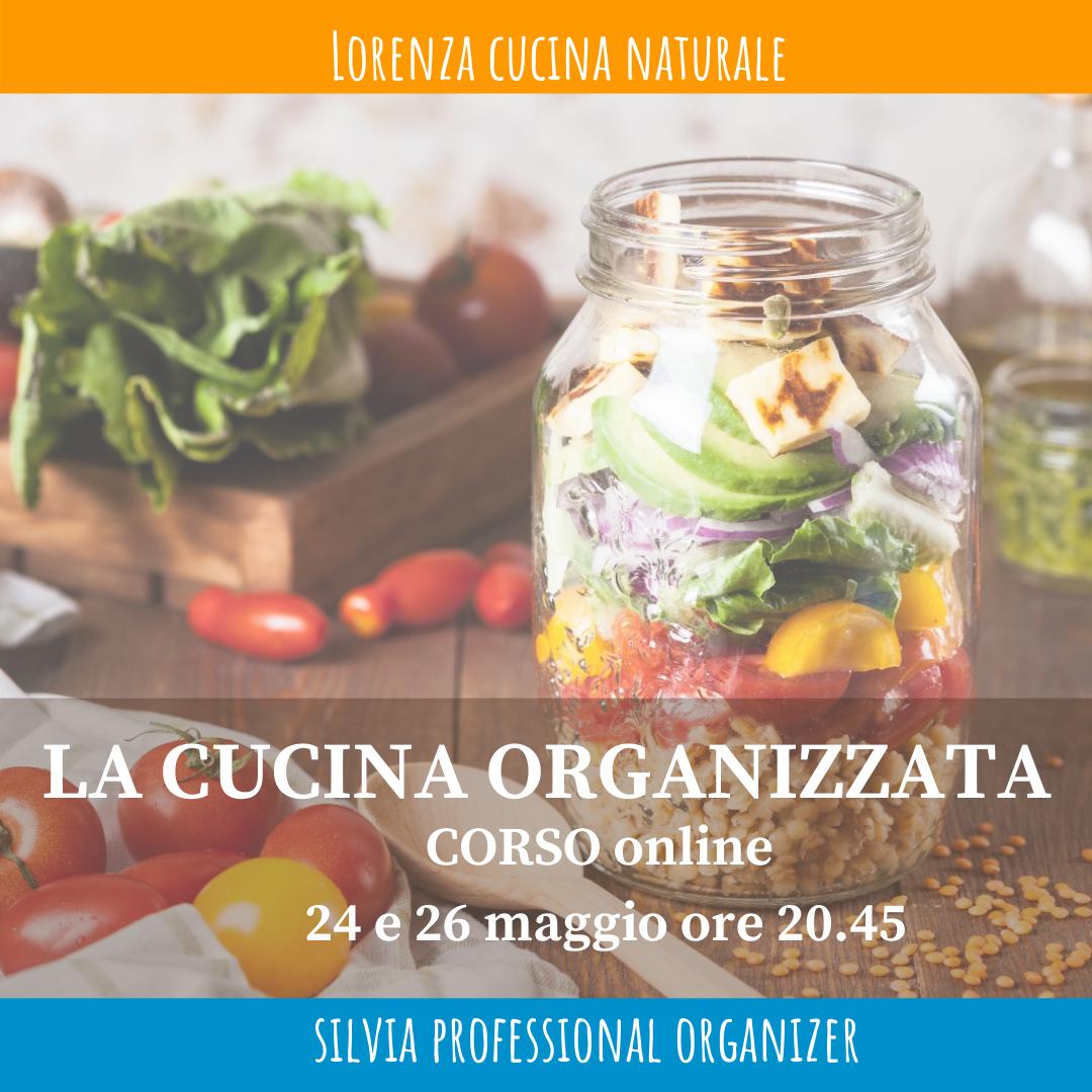 corso online organizzazione in cucina