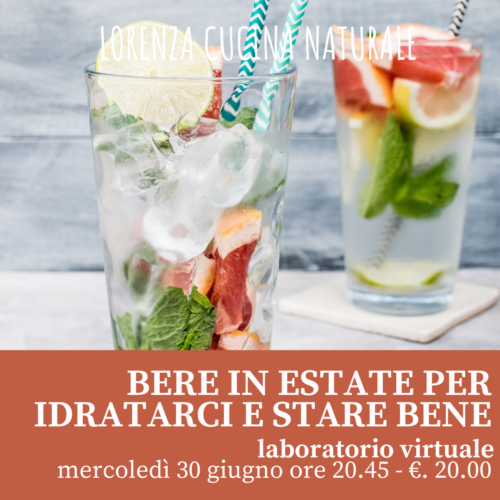 Bere in estate per affrontare sete e caldo!